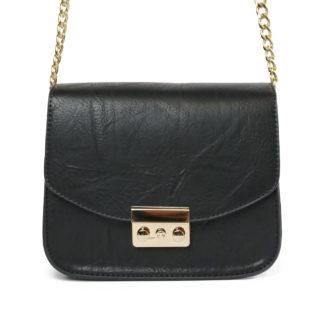 Sana - Dames schoudertas - Zwart/goud