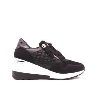 Sneakers Met Verborgen Sleehak, Zwart