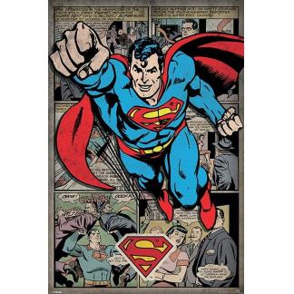 Superman comic - Maxi Poster