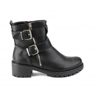 Zwarte Tidy Biker Boots - A361
