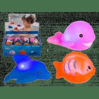 Bad Speeltje Zeedieren Met Van Kleur Veranderende LED